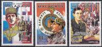 Madagascar 987/89 ** - De Gaulle (Général)