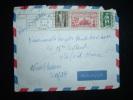 LETTRE PAR AVION POUR ETRANGER TARIF 45 F OBL. MECA. 6-9-1954 ALGER RP ALGER - Covers & Documents