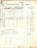 Dinant Brasserie De La Meuse 5 Factures Différente 1936 - Unclassified