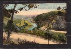 29307    Belgio,   La  Vallee  De La  Semois,  Le  Chateau  De  Bouillon,   Plan  La  Route  De  Courbion,  VG  1939 - Bouillon