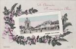 23j - 28 - Chateaudun - Eure Et Loir - Souvenir - Place Du 18 Octobre - Je Vous Envoie Ces Fleurs - Chateaudun