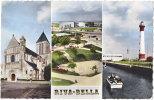 14. Cpsm. Pf. RIVA-BELLA. 3 Vues. 112 - Riva Bella