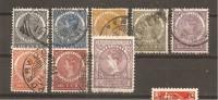 India Holandesa  Yvert  48-49, 51-52, 55-58 (usado) (o) - Niederländisch-Indien