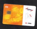 HOTEL KEY CARD   (  MYKEY  CISA  ) - Hotel Keycards