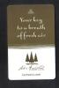 U.S.A.  - HOTEL KEY CARD   ( HOTEL LAKE ARROW HEAD RESORT AND SPA  )  CALIFORNIA - Hotel Keycards