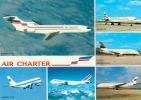 CP.  AIR  CHARTER  FILIALE  AIR  FRANCE   ET  AIR  INTER.  AIRBUS.  BOEING - 1946-....: Moderne