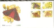 IRELAND ~ 1994  Butterflies FDC - Butterflies