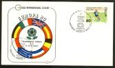 1980 Neapel, Deutschland : Holland, Erinnerungsbeleg M. Sonderstempel - Fußball-Europameisterschaft (UEFA)