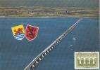 D07070 CARTE MAXIMUM CARD 1984 NETHERLANDS - BRIDGE ZEELAND ZIERIKZEE CP ORIGINAL - Bridges