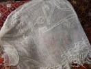Rideau Ou Dessus De Lit Coton Ancien - Drapery