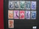 Timbres Italie : Métiers 1950 - 1946-.. République