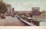 TOURNAI = Le Pont Des Trous - Carte Couleur Animée (écrite) 1908 - Doornik