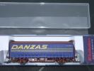 ELECTROTREN H0 Réf.: 1634 K : Wagon Couvert DANZAS - Wagons Marchandises