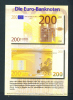 GERMANY  -  Introducing The Euro/Publicity Postcard/200 Euro  Unused As Scans - Coins (pictures)