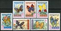 1983 Kampuchea Farfalle Butterflies Schmetterlinge Papillons Set MNH** B583 - Kampuchea