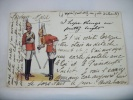 2 SOLDIERS IN PARADE  BY GALE. POLDEN LTD. - 1904 - Inghilterra