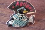 Pin´s  PINGOUIN ET POISSON SURGELES  LIVRAISON A DOMICILE    AGRIGEL   La Marque Avec Un Petit Pingouin B9 - McDonald's