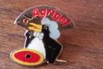 Pin´s  PINGOUIN ET PIZZA  SURGELES  LIVRAISON A DOMICILE    AGRIGEL   La Marque Avec Un Petit Pingouin B9 - McDonald's