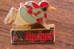Pin´s  PINGOUIN HOCKEY SUR GLACE   SURGELES  LIVRAISON A DOMICILE    AGRIGEL   La Marque Avec Un Petit Pingouin B9 - McDonald's