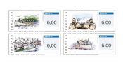 Faroe 2010 - Franking Labels Stamp Set Mnh - ATM - Frama (labels)