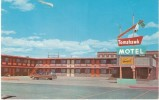 Riverton WY Wyoming, Tomohawk Motel, Lodging, Auto C1960s Vintage Postcard - Riverton