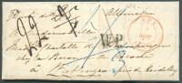 LAC De SPA Le 8 Septembre 1850 + Griffe W.P. (West-Preussen) Vers Heidelberg (Duché De Bade). 7672 - Otros