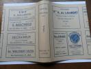PROTEGE-LIVRE PUB  / COMMERCES LIEGEOIS   / LIBRAIRIE ... - Protège-cahiers