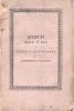 SCRITTI SCELTI O RARI DI STORIA E LETTERATURA DI GIANDOMENICO ROMAGNOSI PAVIA NELLA TIPOGRAFIA DI PIETRO BIZZONI 1826  1 - Livres Anciens