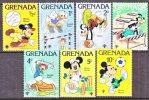 Grenada 950-56   **  DISNEY  SPORTS - Grenada (1974-...)
