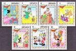 Grenada 1175-81   **  DISNEY  CHRISTMAS - Grenada (1974-...)