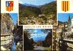 Amélie Les Bains- Vue Gle  Gorges Mondony, Canigou, ..... ** Joli Carte **  Be- Ed Larrey N° 3B  ( 17-08-1974 ) - France