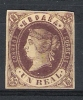 01512 España Edifil  67 (*) Cat. Eur. 270,- - 1850-68 Kingdom: Isabella II