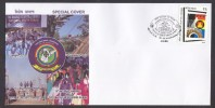 India 2011   16 Th  NATIONAL SCOUTS JUMBOREE Cover # 22922 Indien Inde - Scouting