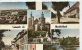 5 - MONTBELIARD ( 5 VUES ) HOTEL DE VILLE - PLACE DENFERT ROCHEREAU - LE CHATEAU ... - Montbéliard
