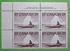 Briefmarken Kanada Canada 1955 Zusammendruck Mit Eckrand Sehr Selten. - Blocks & Kleinbögen