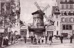 REPRODUCTION CPA  75 PARIS MONTMARTRE LE MOULIN ROUGE - France