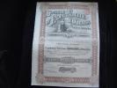 """Action""""Sté D'electricité D'Odessa  Action De Dividende Belle Lithographie 1910 Ukraine Russie/Russia - Electricité & Gaz"""