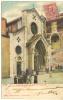VENTIMIGLIA-IMPERIA-LA CATTEDRALE-ANIMATISSIMA-VIAGGIATA IL 13-2-1905-VEDERE - Imperia