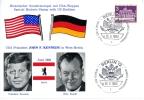 West-Berlin, John F. Kennedy - Willy Brandt, Sonderstempel, 26.6.1963 - Ereignisse