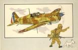 TINTIN Et L´Aviation De La Guerre 1939-45 - Morane-Saulnier MS -406  -1937 - France - Casterman 1954 - Hergé