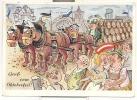 1488-GRUSS VOM OKTOBERFEST-1957-BIER-FG - Kirmes
