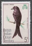 BIOT 1975 Mi# 63* BIRD - Territoire Britannique De L'Océan Indien
