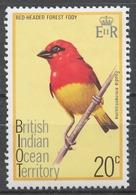 BIOT 1975 Mi#65* BIRD - Territoire Britannique De L'Océan Indien