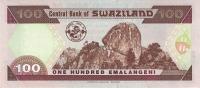 SWAZILAND P. 27a 100 E 1996 UNC - Swaziland