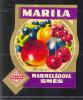 Czechoslovakia - Fruit Mix Marmelade, MARILA In City Rokycany - Fruits & Vegetables