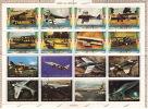 UMM AL QIWAIN  1972  Avions  Bloc De 16 Différents Michel 1274-89   Oblitérés - Umm Al-Qaiwain