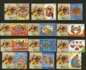India 2011 INDIPEX-2011 Personalized My Stamp Astrological Sign Leo Libra Virgo Zodiac MNH Inde Indien # 1154 - Astrology