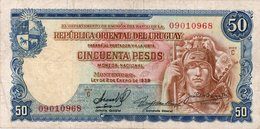 URUGUAY UNISSUED 1989 ( RED) NUEVOS PESOS 5000 UNC.CONDITION - Uruguay