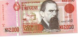 URUGUAY 2000 P 1989 P68-~UNC - Uruguay