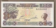 Guinea - Banconota Non Circolata Da 100 Franchi - 1998 - Guinea